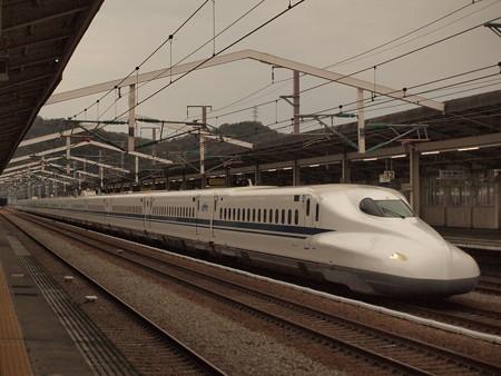 N700系のぞみ  山陽新幹線相生駅01