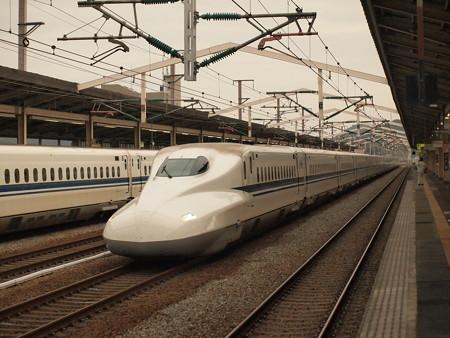 N700系のぞみ  山陽新幹線相生駅02