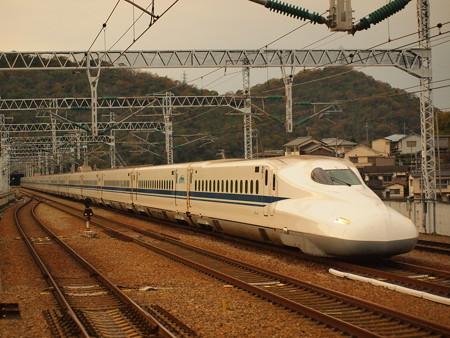 N700系のぞみ  山陽新幹線相生駅03