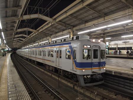 南海7100系空港急行 南海本線天下茶屋駅02