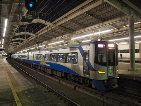 南海12000系特急サザン   南海本線天下茶屋駅01