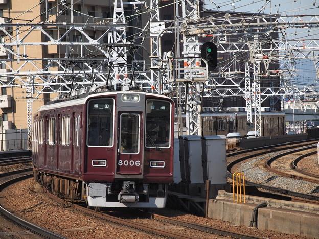 阪急8000系普通 阪急宝塚線中津駅