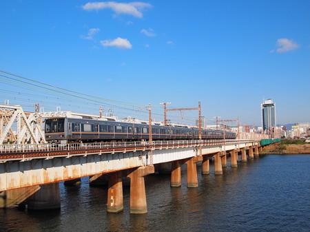 207系普通 東海道本線新大阪~大阪