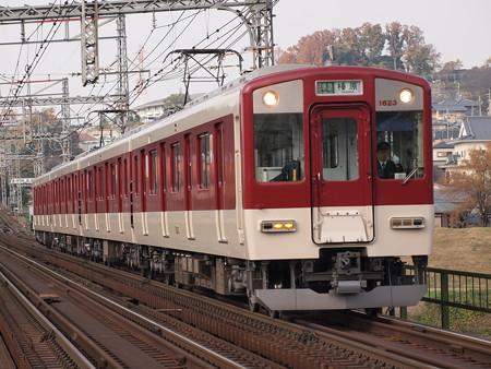 近鉄1620系区間準急 近鉄大阪線安堂~国分