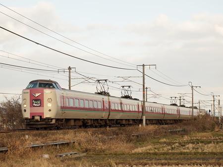 381系特急やくも 山陽本線庭瀬~中庄01