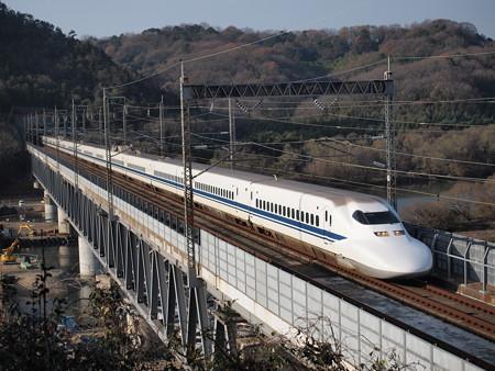 700系のぞみ 山陽新幹線新倉敷~岡山01
