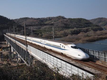 N700系のぞみ 山陽新幹線新倉敷~岡山03