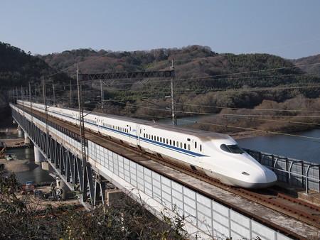 N700系のぞみ 山陽新幹線新倉敷~岡山04