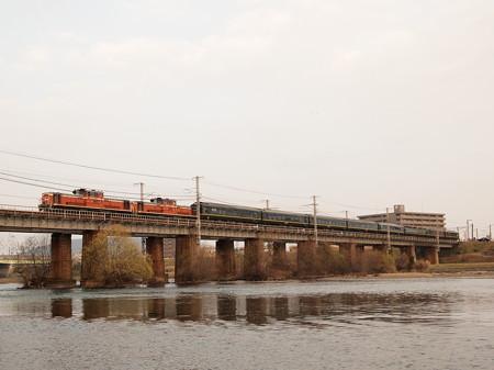 DD51 寝台特急トワイライトエクスプレス 山陽本線西川原~岡山02