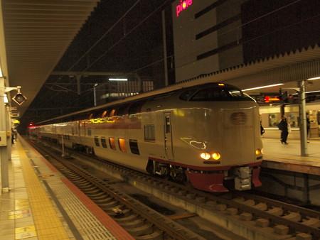 285系サンライズ出雲 山陽本線姫路駅02