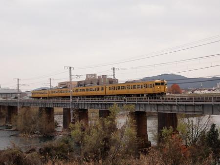 115系普通 山陽本線西川原~岡山01
