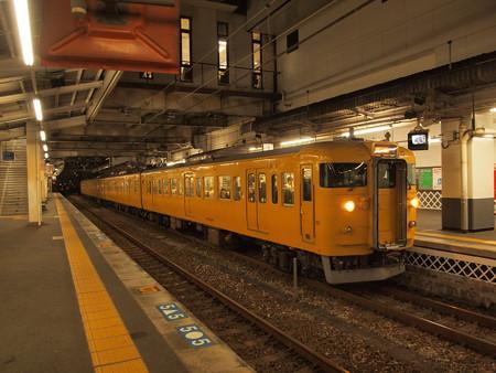 115系普通 山陽本線倉敷駅