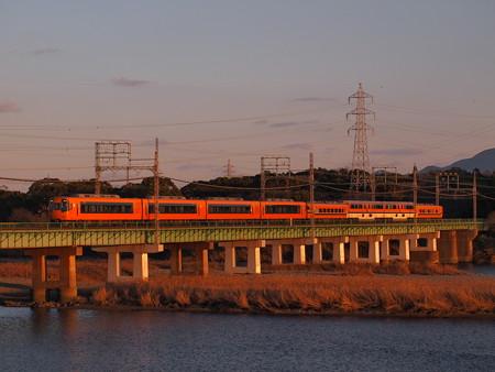 近鉄22000系名伊乙特急 近鉄山田線宮町~小俣