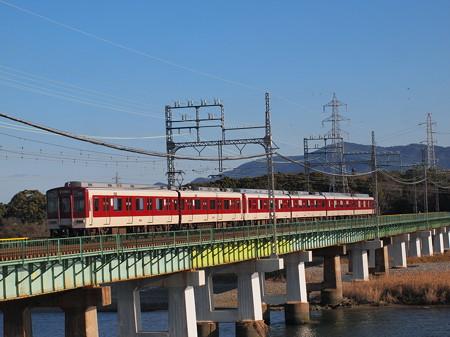近鉄9000系急行  近鉄山田線宮町~小俣01