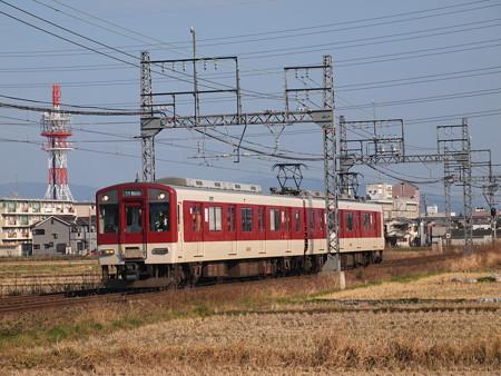 近鉄6400系準急  近鉄南大阪線尺土~高田市