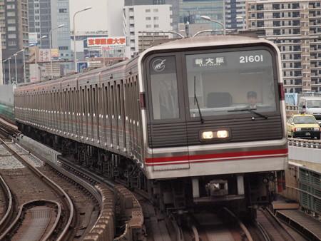 大阪市営地下鉄20系 御堂筋線西中島南方駅01