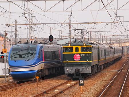EF65 トワイライトエクスプレス 山陽本線英賀保駅01