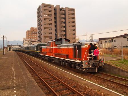 DD51 トワイライトエクスプレス 山陽本線東萩駅03