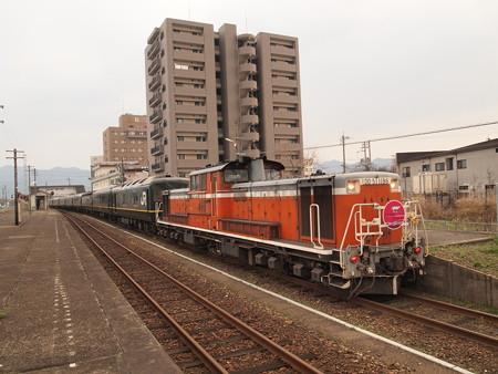 DD51 トワイライトエクスプレス 山陽本線東萩駅04