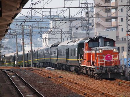 DD51 トワイライトエクスプレス 山陽本線下関駅01