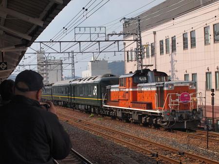 DD51 トワイライトエクスプレス 山陽本線下関駅07