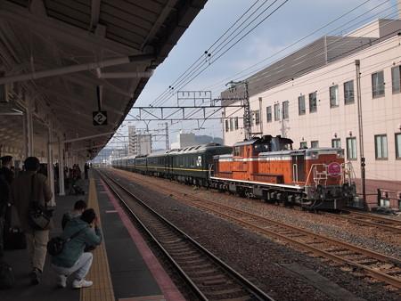 DD51 トワイライトエクスプレス 山陽本線下関駅08