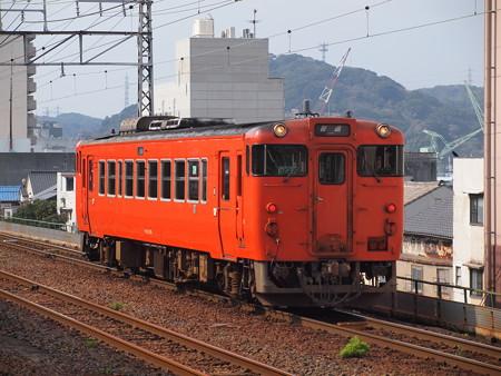 キハ40回送 山陽本線下関駅04