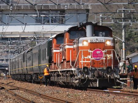 DD51 トワイライトエクスプレス 伯備線美袋~日羽01