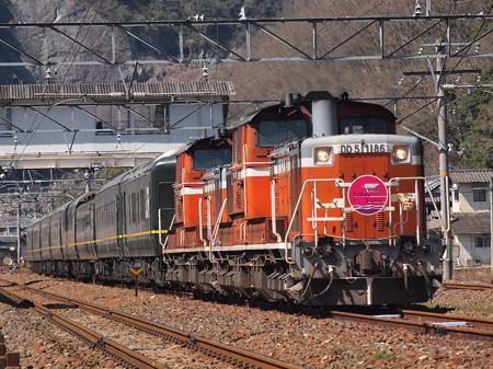 DD51 トワイライトエクスプレス 伯備線美袋~日羽09