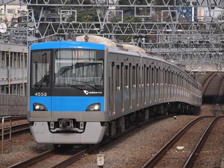 小田急4000形快速急行 小田原線喜多見駅