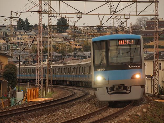 小田急4000形快速急行 小田原線町田~玉川学園01