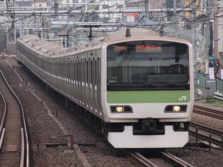 E231系普通  山手線駒込駅 02