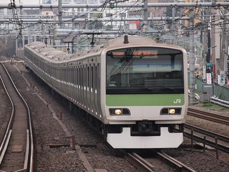 E231系普通  山手線駒込駅 03