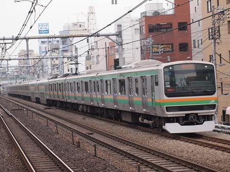 E231系快速  湘南新宿ライン赤羽~池袋 02