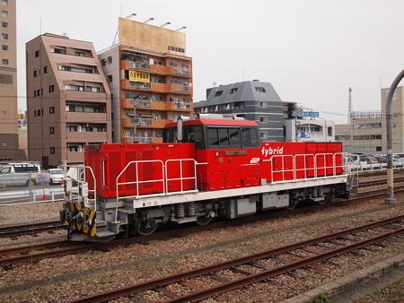 HD300形単機 中央本線八王子駅