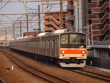 205系普通   武蔵野線新座駅 01