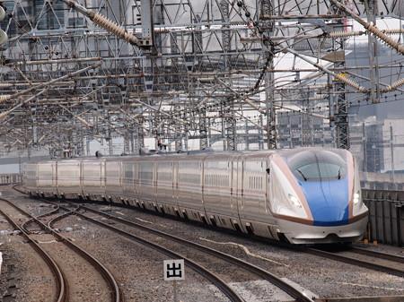 E7系はくたか 東北新幹線大宮駅