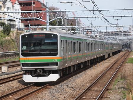 E231系普通 東海道本線川崎~横浜02