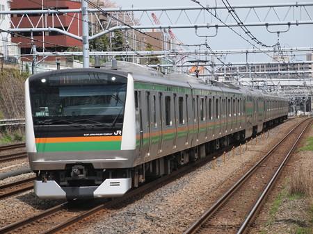 E233系快速アクティー 東海道本線川崎~横浜