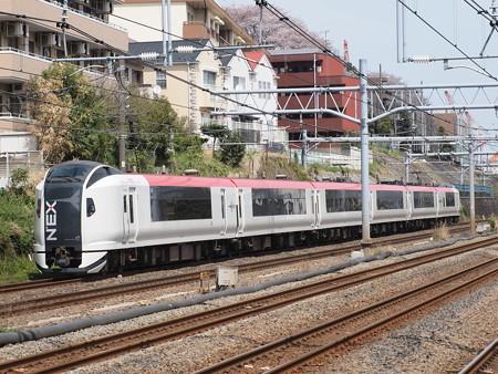 E259系特急成田エクスプレス横須賀線武蔵小杉~横浜01