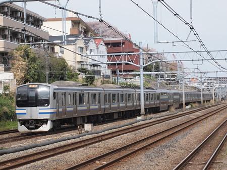E217系普通 横須賀線武蔵小杉~横浜03