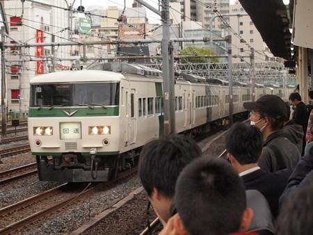 185系回送   東北本線上野~尾久