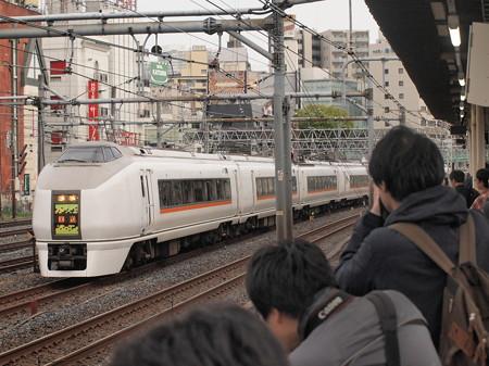 651系回送   東北本線上野~尾久01