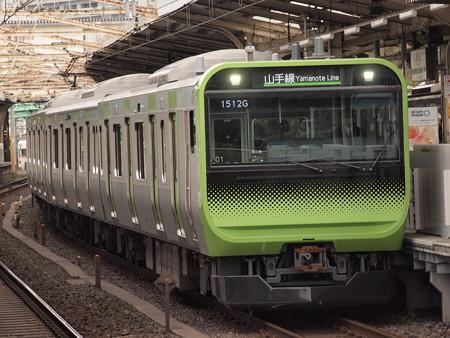 E235系普通  山手線鶯谷駅01