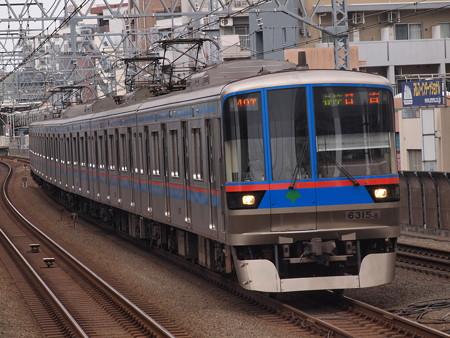 都営6300形各停  東急目黒線武蔵小杉駅01