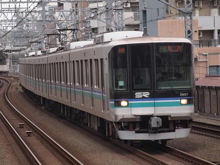 埼玉高速鉄道2000系各停 東急目黒線武蔵小杉駅
