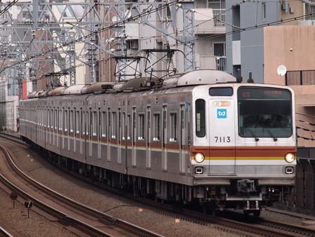メトロ7000系各停 東急東横線武蔵小杉駅01