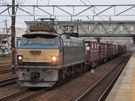 EF66貨物 東海道本線清州駅