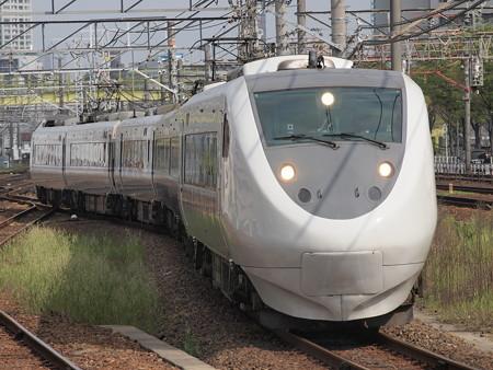 681系回送 東海道本線熱田駅