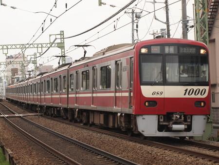 京急1000形快特   京急本線神奈川~仲木戸01